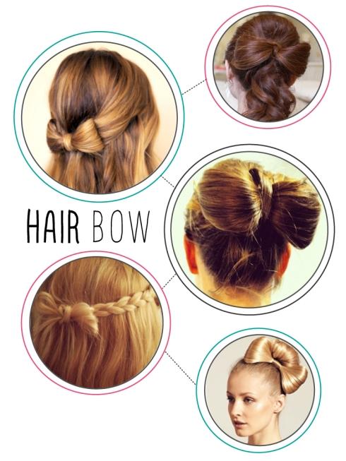 Astonishing Hair Bow Tutorial Short Hairstyles For Black Women Fulllsitofus