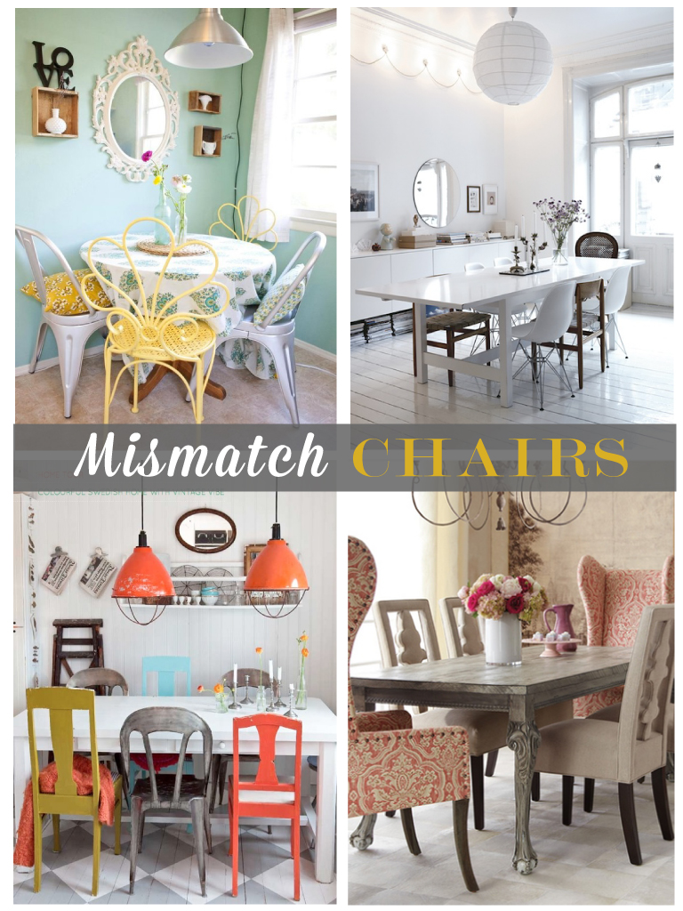 1000 images about Farmhouse Tables with Mismatch